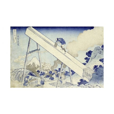 "KATSUSHIKA HOKUSAI ""In Totomi Mountains"" Japan PRINT various SIZES available"