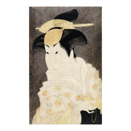 "TOSHUSAI SHARAKU ""Portrait Of Actor Iwai Hanshiro IV"" various SIZES available"