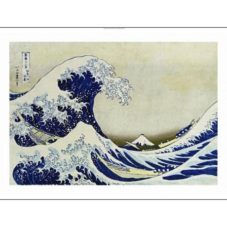 "KATSUSHIKA HOKUSAI ""Great Wave Of Kanagawa"" Japan PRINT various SIZES, BRAND NEW"
