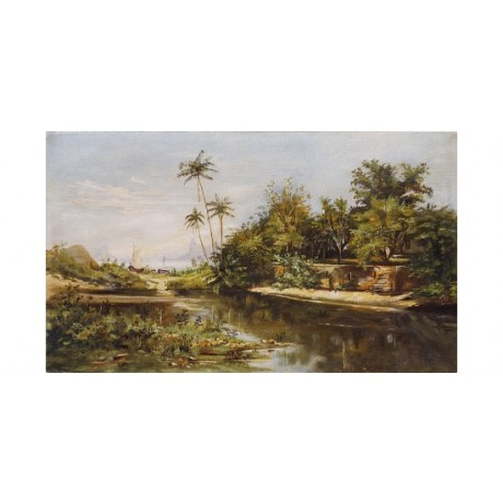 "JOSE JERONIMO TELES ""Paisagem Brasileiro"" new CANVAS! various SIZES, BRAND NEW"