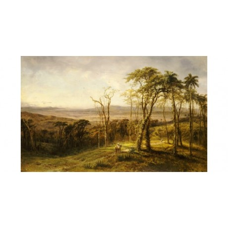 "HENRY CLEENEWERCK ""Guajiros En El Camino"" CANVAS ART various SIZES available"