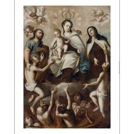 "MIGUEL CABRERA ""Madonna And Child"" print religious choose SIZE, from 55cm up"
