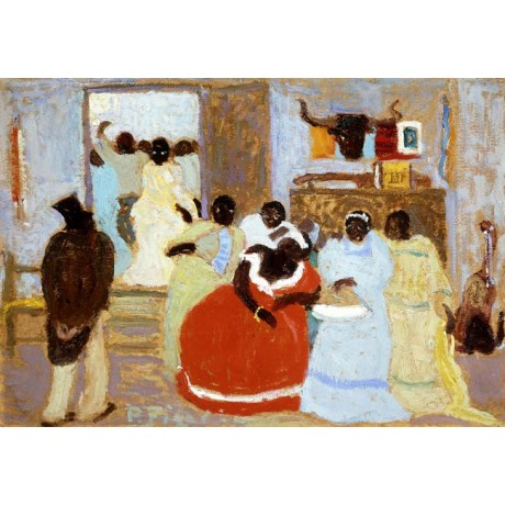 """PEDRO FIGARI """"The Brothers"""" african ETHNICITY family socialising ballgown NEW!!"""