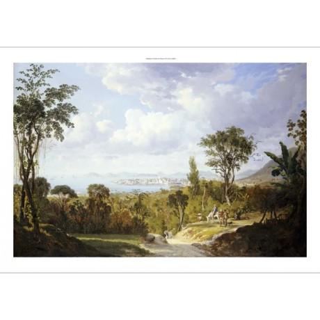 "ERNEST CHARTON ""Vista General De Panama"" CANVAS ART various SIZES available, NEW"