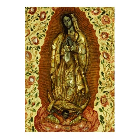 "ANONYMOUS (MEXICAN) ""Virgin Of Guadeloupe"" PRINT new various SIZES available"