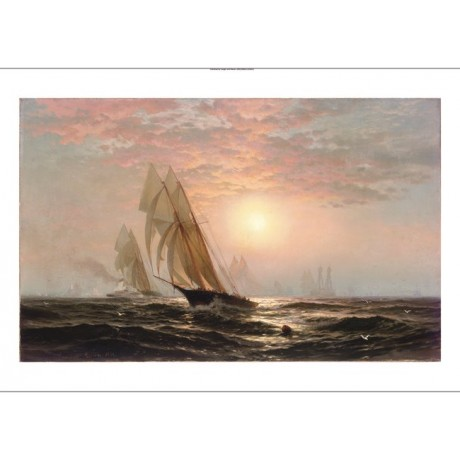 "EDWARD MORAN ""The Madeleine's Victory, America's Cup"" various SIZES, BRAND NEW"