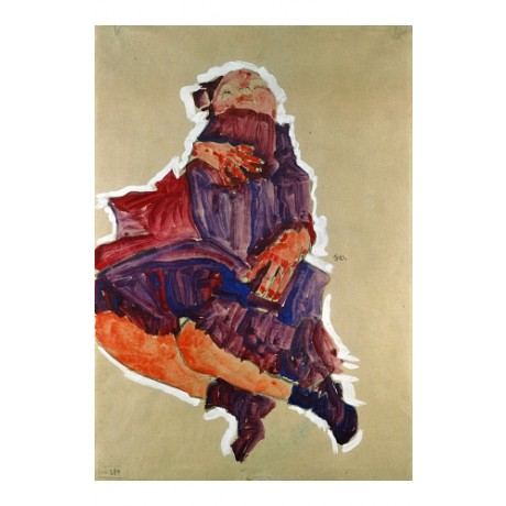 "EGON SCHIELE ""Sleeping Child"" BROWSE our eBay shop! various SIZES available, NEW"