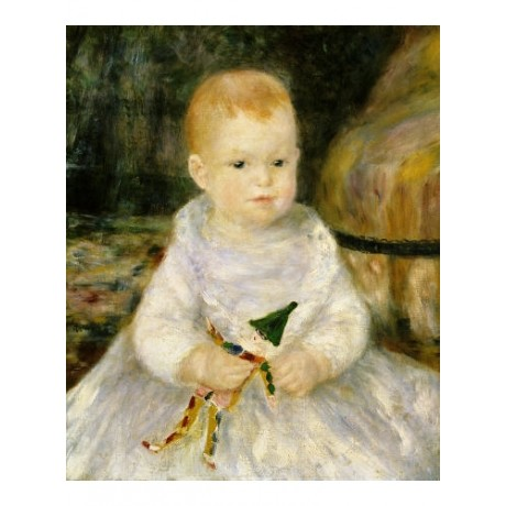 "PIERRE AUGUSTE RENOIR ""Child with A Toy Clown"" Print various SIZES available"