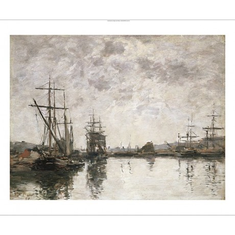 "EUGENE BOUDIN ""Deauville, Le Bassin"" BROWSE our shop! various SIZES, BRAND NEW"