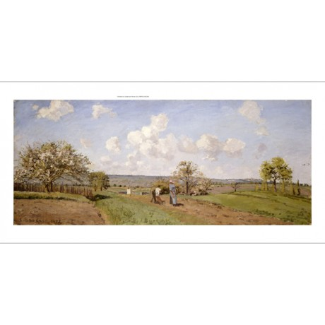 "CAMILLE PISSARRO ""Spring"" Landscape Art CANVAS EDITION various SIZES, BRAND NEW"