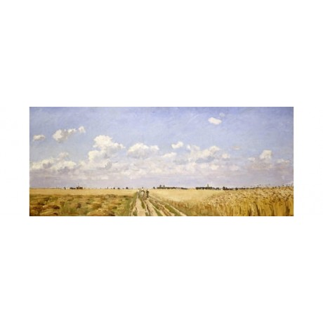 "CAMILLE PISSARRO ""Summer"" Landscape Art CANVAS EDITION various SIZES, BRAND NEW"