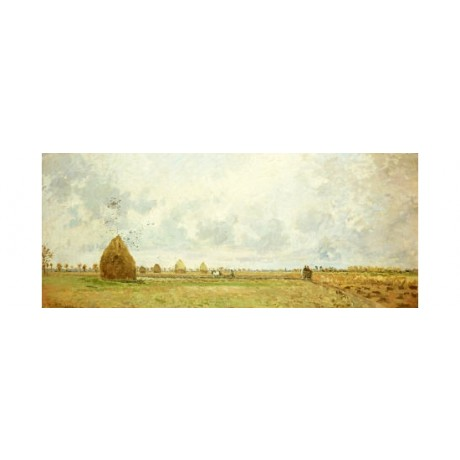 "CAMILLE PISSARRO ""Autumn"" landscape print NEW choose your SIZE, 55cm to X LARGE"