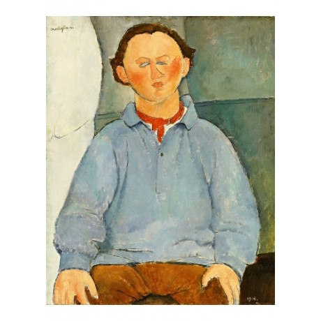 AMEDEO MODIGLIANI Portrait Oscar Miestchanioff PRINT various SIZES available