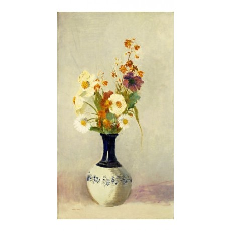 "ODILON REDON ""Flowers In A Vase"" Art CANVAS EDITION various SIZES available, NEW"