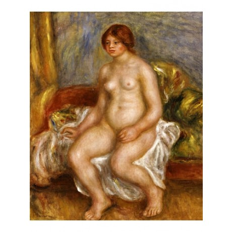 "PIERRE AUGUSTE RENOIR ""Nude Woman On Green Cushions"" various SIZES available"