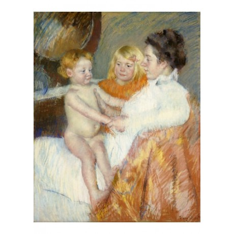 MARY STEVENSON CASSATT Mother, Sara And Baby Nude PRINT various SIZES, BRAND NEW