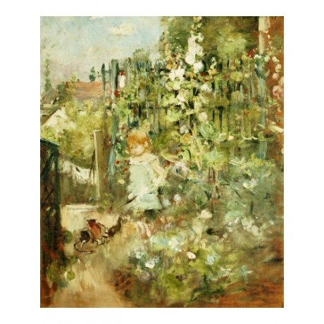 "BERTHE MORISOT ""A Child In Rosebeds"" Art Print various SIZES available"