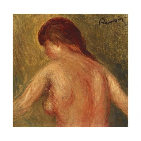 "PIERRE AUGUSTE RENOIR ""Nude Female Torso"" ON CANVAS! various SIZES available"