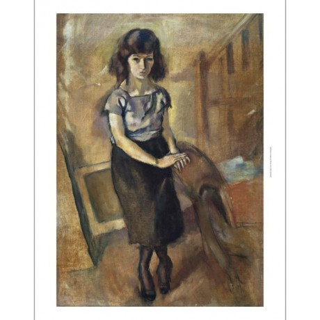 "JULES PASCIN ""Standing Young Woman"" BROWSE our SHOP! various SIZES available"