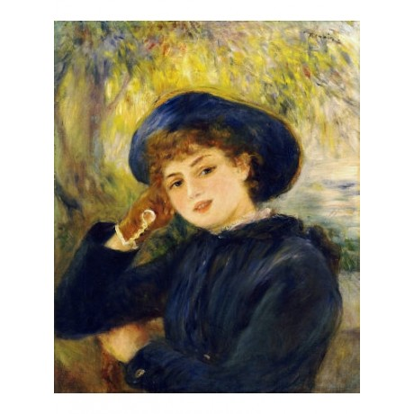 PIERRE-AUGUSTE RENOIR Portrait Mlle Demarsy Print NEW various SIZES, BRAND NEW