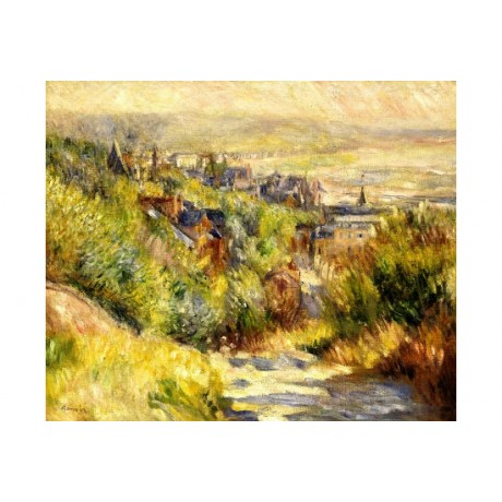 "PIERRE-AUGUSTE RENOIR ""Heights At Trouville"" PRINT new various SIZES, BRAND NEW"