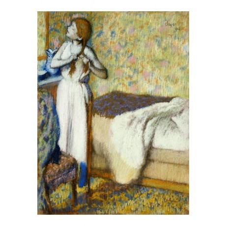 "EDGAR DEGAS ""Morning Toilet"" Woman Art CANVAS EDITION various SIZES, BRAND NEW"