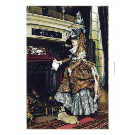 "JAMES JACQUES JOSEPH TISSOT ""La Cheminee"" print NEW various SIZES available, NEW"