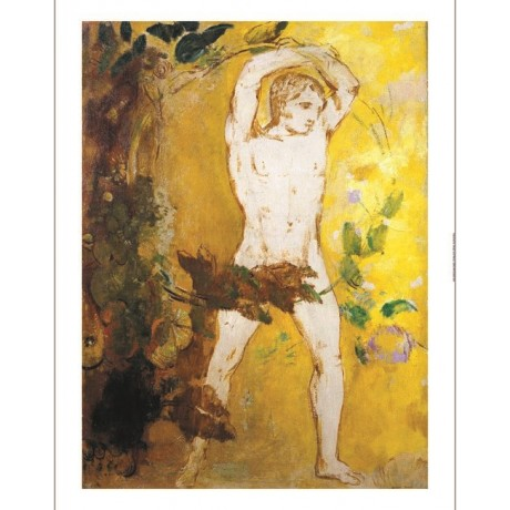 "ODILON REDON ""Orpheus"" Male Nude Art CANVAS EDITION various SIZES available, NEW"