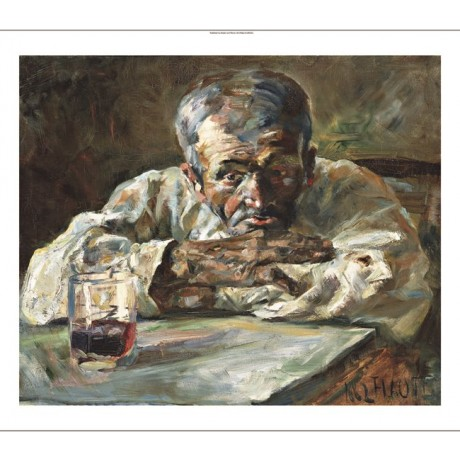 "Henri de Toulouse-Lautrec ""The Alcoholic, Father Mathias"" alchohol drink CANVAS"