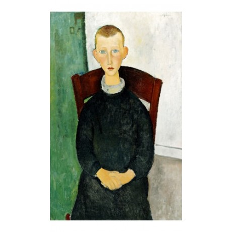 "AMEDEO MODIGLIANI ""Caretaker's Son"" print ON CANVAS various SIZES available, NEW"