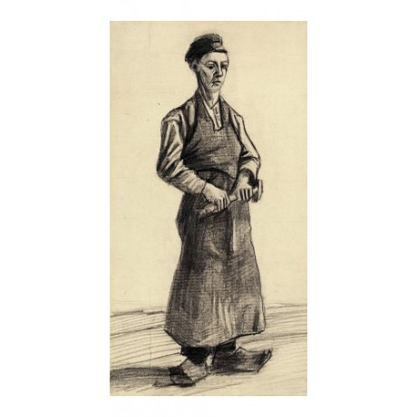 "VINCENT VAN GOGH ""Blacksmith's Boy"" print ON CANVAS various SIZES available, NEW"