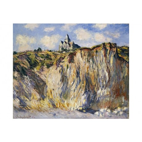 "CLAUDE MONET ""Church Of Varengeville"" CANVAS EDITION various SIZES available"