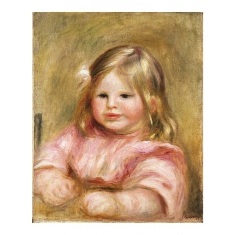 "PIERRE-AUGUSTE RENOIR ""Portrait De Coco"" CANVAS print! various SIZES, BRAND NEW"