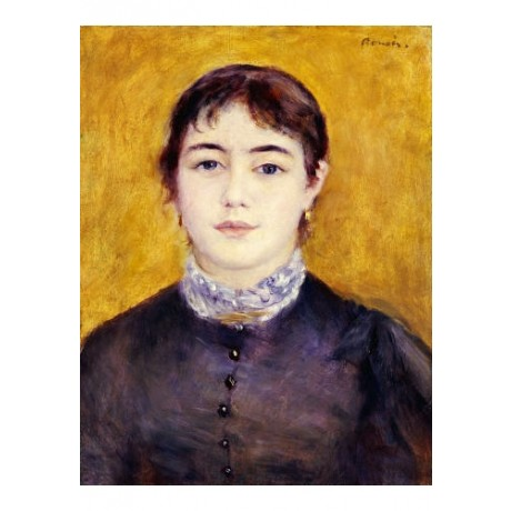 "PIERRE AUGUSTE RENOIR ""Young Woman Wearing Blue"" print various SIZES, BRAND NEW"