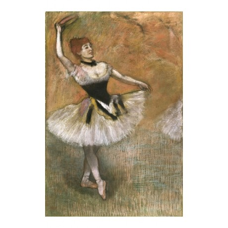 "EDGAR DEGAS ""Dancer With Tambourine"" BROWSE our shop! various SIZES, BRAND NEW"