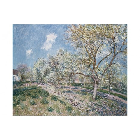 "ALFRED SISLY ""Springtime At Veneux"" BROWSE our shop! various SIZES available"