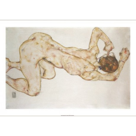 "EGON SCHIELE ""The Crouch"" 5000+ PRINTS in our eBay shop various SIZES available"