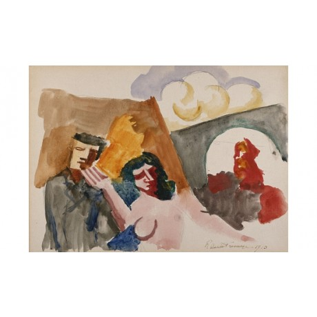 "ROGER DE FRESNAYE ""Study For 'The Conjugal Life'"" PRINT various SIZES, BRAND NEW"