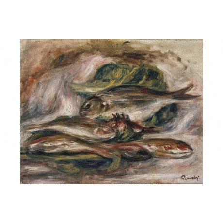 "PIERRE AUGUSTE RENOIR ""Fish. Poissons"" CANVAS PRINT! various SIZES available"