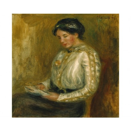 "PIERRE AUGUSTE RENOIR ""Woman Reading"" BROWSE our shop! various SIZES, BRAND NEW"