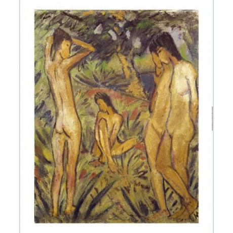 "OTTO MUELLER ""Bathing, Badende"" BROWSE our eBay shop! various SIZES, BRAND NEW"