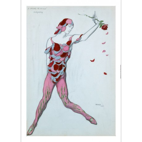 "LEON BAKST ""Le Spectre De La Rose"" NIJINSKY on CANVAS! various SIZES, BRAND NEW"