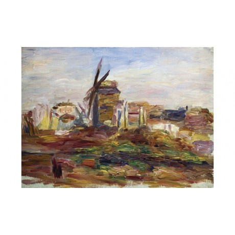 "PIERRE AUGUSTE RENOIR ""A Windmill"" BROWSE our shop! various SIZES available, NEW"