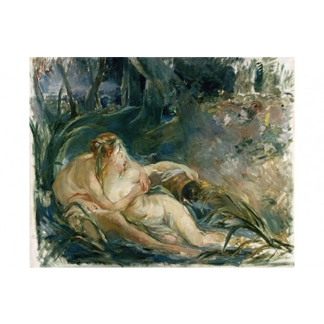 "BERTHE MORISOT ""Apollo Appearing to Latone"" ON CANVAS! various SIZES available"