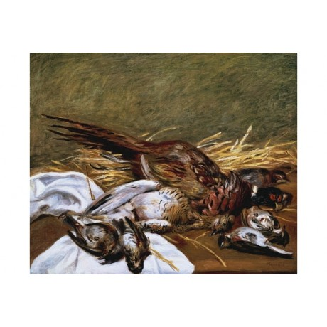 "PIERRE AUGUSTE RENOIR ""Pheasant, Sparrow And Grouse"" various SIZES available"