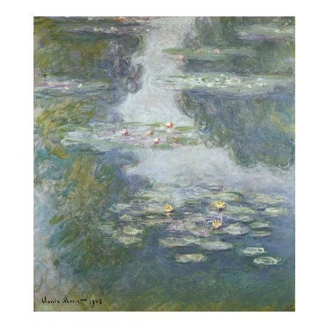 "CLAUDE MONET ""Waterlilies, Nympheas"" SEE our eBay shop! various SIZES, BRAND NEW"