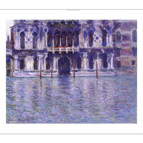 "CLAUDE MONET ""Contarini Palace"" print ON CANVAS choose SIZE, from 55cm up, NEW"