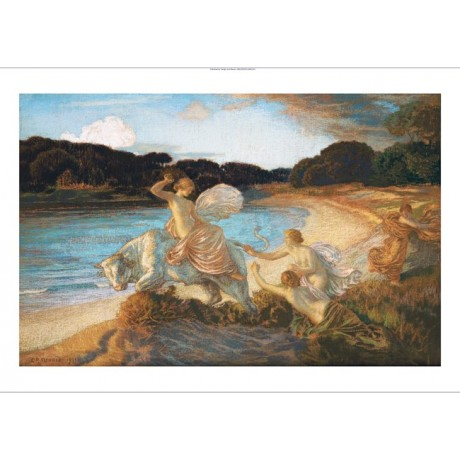 "MARIE AUGUSTE EMILE RENE MENARD ""Rape Of Europa"" PRINT various SIZES, BRAND NEW"