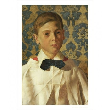 "C. STANLEY POLLITT ""Chorister"" Child PRINT ON CANVAS various SIZES available"