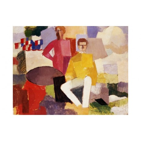"ROGER DE LA FRESNAYE ""Fourteenth Of July CANVAS ART various SIZES available, NEW"